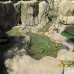 Santa Barbara Zoo, Asiatic small-clawed otter enclosure
