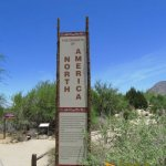 The Living Desert Zoo & Gardens, The way to the different desert ecosystems of North America