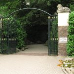 Rhenen Zoo, Ouwehands Dierenpark, Historic porch, now leading to tigers and giraffes