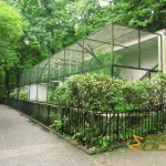 Wuppertal Zoo, Small Cats House, row of enclosures