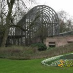 Antwerp Zoo, Walk-through aviary adjacent to Hippotopia