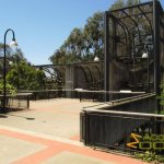 San Francisco Zoo & Gardens, Francois langur, lion-tailed macque and black howler monkey enclosures