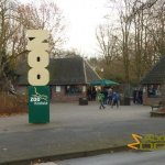Krefeld Zoo, Entrance