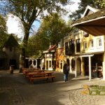 Rhenen Zoo, Ouwehands Dierenpark, Fictitious, but picturesque hamlet Karpatica at Bear Forest entrance