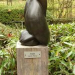 Shona-Art at Krefeld Zoo - 2016, Eagle by Janet Manzi
