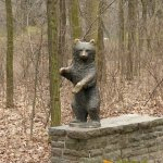 Berlin Tierpark, Bear cub by Gerhard Thieme - 1966