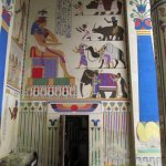 Antwerp Zoo, Egyptian temple decoration