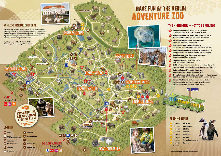 Berlin Tierpark map 2015