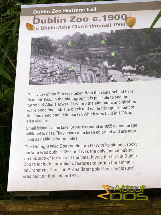 Heritage trail information panel