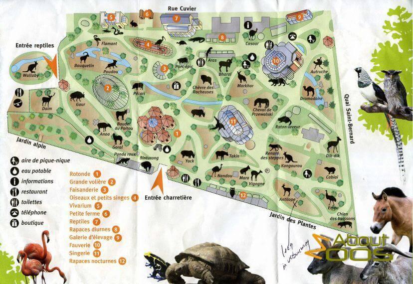 Paris, la Ménagerie du Jardin des Plantes | About Zoos