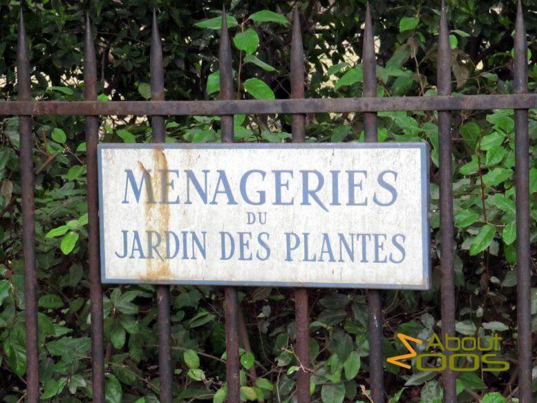 Paris La Menagerie Du Jardin Des Plantes About Zoos