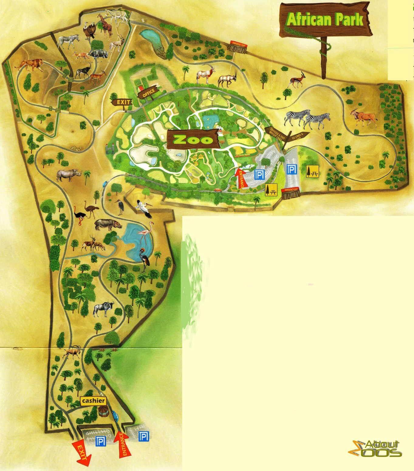 Zoological Centre Tel AvivRamat Gan About Zoos - Ramat gan map